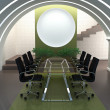 Stock Photo: Facilities for conferences and meetings