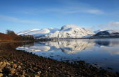Ben Nevis from Corpach. — Stock Photo