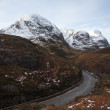 The road through Glencoe. — Stock Photo