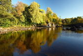 River Lochy in Autumn. — Stock Photo
