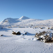 Stock Photo: Winters day in the Scottish Highlands.