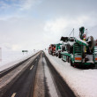 Snowbound in Glencoe. - Stock Photo
