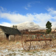 Stock Photo: Abandoned Croft in Highlands of Scotland.