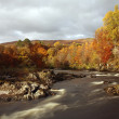 Stock Photo: River Lochy in Lochaber.