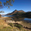 Stock Photo: Pap of Glencoe and Loch Leven.
