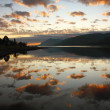 Dusk in the Scottish Highlands. - Stock Photo