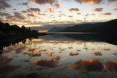 Dusk in the Scottish Highlands. — Stock Photo