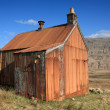 Stock Photo: Old tin shack.