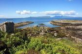 Isles of Eigg and Rum. — Стоковое фото