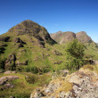 Three Sisters,Glencoe. — Stock Photo