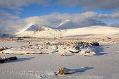 Black Mount on Rannoch Moor. — Stock Photo