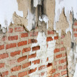 Crack on brick wall — Stock Photo #3937464