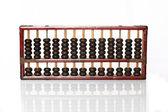 Abacus on white background — Stock Photo