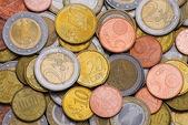 Sfondo di monete — Foto Stock