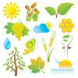 Nature Icons — Stock Vector #4112341