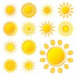Sun - Stock Vector