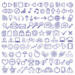 Stock Vector: Icon Set