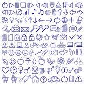 Icon Set — Stock Vector