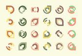 Design Elements or Logos — Stock Vector