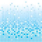 Blauwe abstracte achtergrond — Stockvector