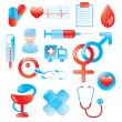 Medical Icon Set — Stock Vector #4612951