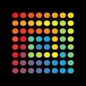 抽象的なスペクトル デザイン — ストックベクタ