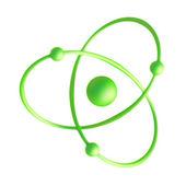 3d Atom — Stock Photo