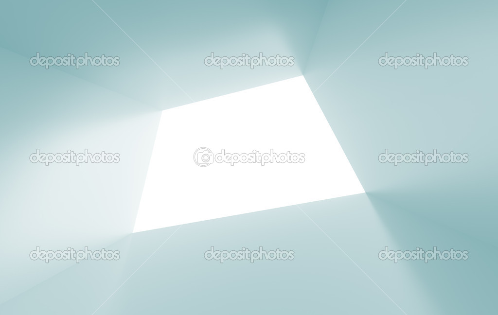 3d Illustration of Blue Abstract Tunnel Background — Stock Photo #4897110