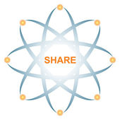 Share icon — Stock Vector