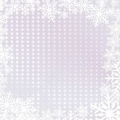 Christmas background with snowflakes — ストックベクタ