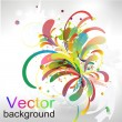Abstract vector modern background — Stock Vector