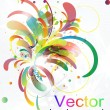Abstract vector modern background — Stockvektor