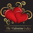 Royalty-Free Stock ベクターイメージ: The Valentine\'s day