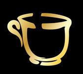 Cup of tea — Stock Vector