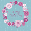 Royalty-Free Stock Vector Image: Merry Christmas Cute Card