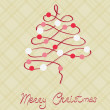Royalty-Free Stock Vector Image: Merry Christmas Postcard in vector