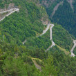 Stock Photo: Alpe d'Huez - Curve 9-11-13