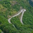 Stock Photo: Alpe d'Huez - Curve 9