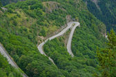 Alpe d'Huez - Curve 9 — Stock Photo