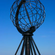 monument de globe Cap Nord — Photo
