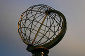 North Cape Globe at daylight — Stock Photo