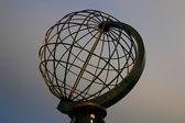 North Cape Globe at daylight — Stock Photo