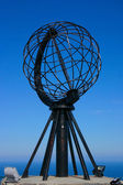 North Cape Globe Monument — Stock Photo