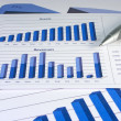 Financial Management Chart #1 — Stock Photo #4877501