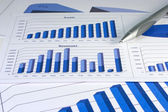 Financial Management Chart #1 — Stock Photo