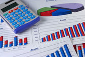 Financial Management Chart #5 — Stock Photo