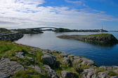 Lofoten Bridge — Stock Photo