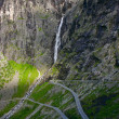 Stock Photo: Trollstigen Hairpin Bends