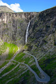 Trollstigen Hairpin Bends — Stock Photo