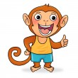 Little monkey — Foto de Stock